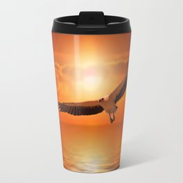 White  Eagle Travel Mug