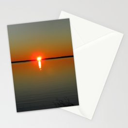Pregnant Pause of a Downeast Evening Stationery Cards