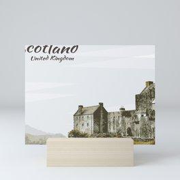 Eilean Donan Castle Scotland United Kingdom Mini Art Print