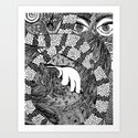Sleeping Beauty | Limited Edition of 50 Prints by kaleidodrama