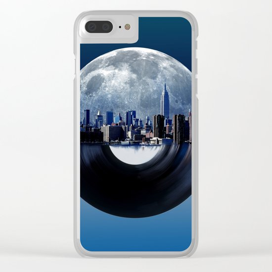 new york  city music 2 Clear iPhone Case