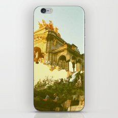 Barcelona Cubism Dreams iPhone Skin