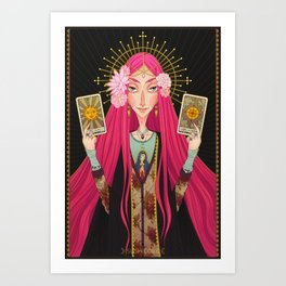 ☽ Oracle ☾ Art Print