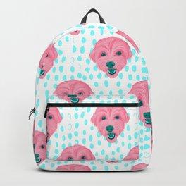 havanese - wht pattern Backpack