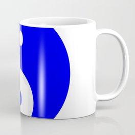 Yin & Yang (Blue & White) Coffee Mug