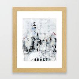 I digress. Framed Art Print