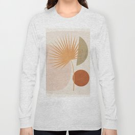 Tropical Leaf- Abstract Art 49a Long Sleeve T-shirt