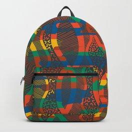 African Motif Backpack