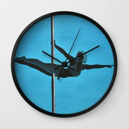 The Superman | Pole Dancer Series Wall Clock