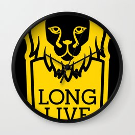 Long Live The King Wall Clock