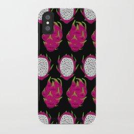 strange fruits (dragonfruit) iPhone Case
