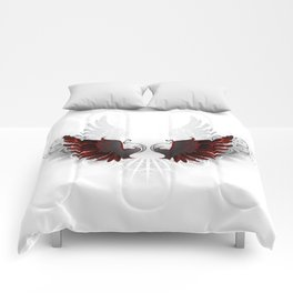 Black Wings Comforters