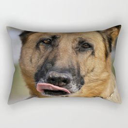 What a tasty yummy at the castle! Rectangular Pillow