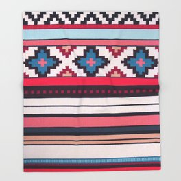 V32 Anthropologie Boho Moroccan Design. Throw Blanket