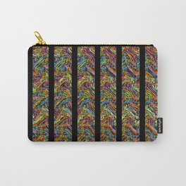 Even More Colors With Stripes Carry-All Pouch