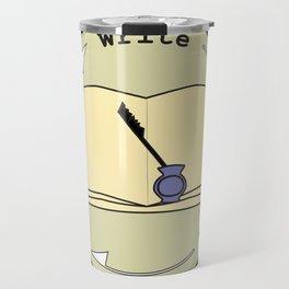 Write - Think - Edit Travel Mug