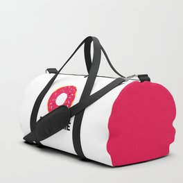 Donut Talk To Me Funny Quote Duffle Bag