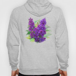 Watercolor Lilac Hoody