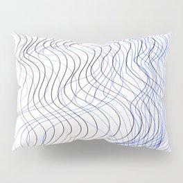 Waves Lines Pillow Sham