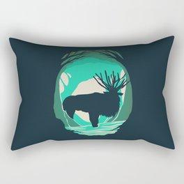 God Of The Forest Rectangular Pillow