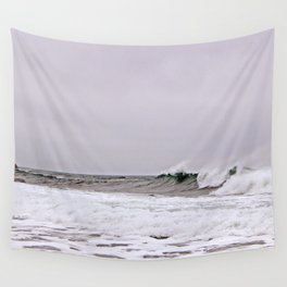 The Wave and the Wind Wall Tapestry