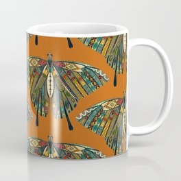 swallowtail butterfly copper Coffee Mug