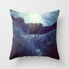 Waking to Wisdom Throw Pillow