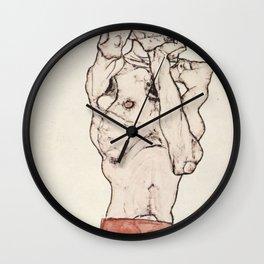Egon Schiele Zeichnungen II Wall Clock