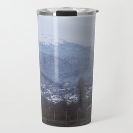 mountain scene Travel Mug