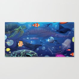 Giants of the Deep Canvas Print