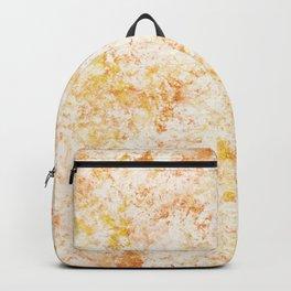 Copper & gold sponge painting Backpack