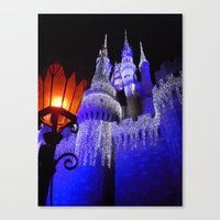 spires Canvas Prints featuring Blue Spires by Dragons Laire