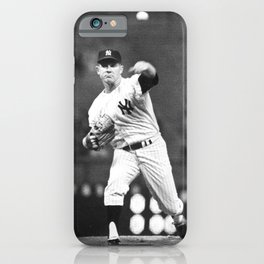 𝓜𝓛𝓑 - HOF - Society6 - Baseball - Edward Charles - Whitey - F O R D - New York - Vintage 5 iPhone Case