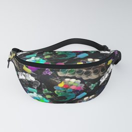 Tattoo ink and machines Fanny Pack