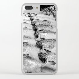 Pike Place Market Wild Salmon Catch Clear iPhone Case