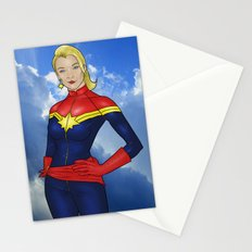Carol Danvers Stationery Cards
