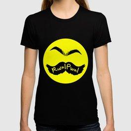 RwnlPwnl Mustache T-shirt