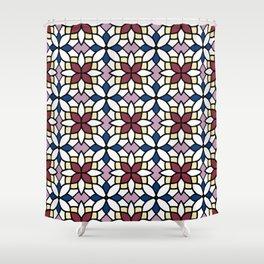 Moroccan Wine Shower Curtain
