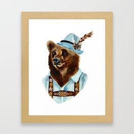 Bear-Varian  Framed Art Print