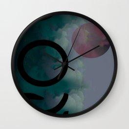 Mercurial Methodology Wall Clock