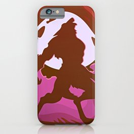 Halloween Lycanthrope iPhone Case