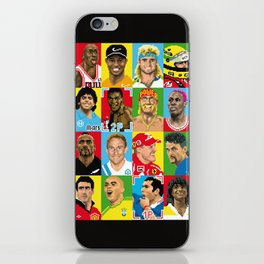 select your athlete iPhone Skin