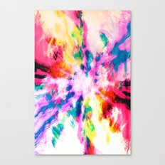 Screaming Clouds Canvas Print