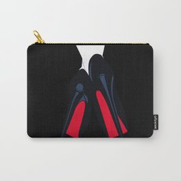 Red bottoms heels - Luxury Fashion artwork Carry-All Pouch