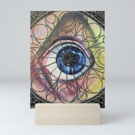Obscene Eye Contact Mini Art Print