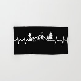 My Heart Beats For Nature Hand & Bath Towel