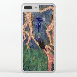 The Vegetarian Dance Fine Art Parody Clear iPhone Case