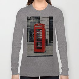 British Telephone Booth Long Sleeve T-shirt