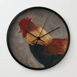 In the Coop Wall Clock