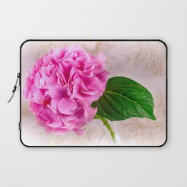 Vintage Pink Hydrangea Laptop Sleeve
